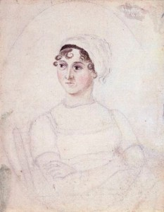 by Cassandra Austen,drawing,circa 1810